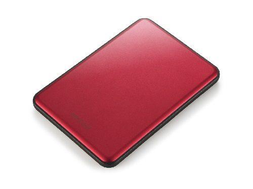 Ver Buffalo MiniStation Slim 1000GB Rojo disco duro externo