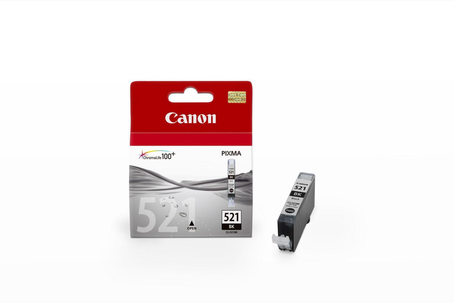 Canon CLI 521 BK Negro cartucho de tinta