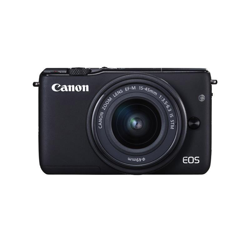 Canon EOS M10 EF M 15 45mm f NEGRA