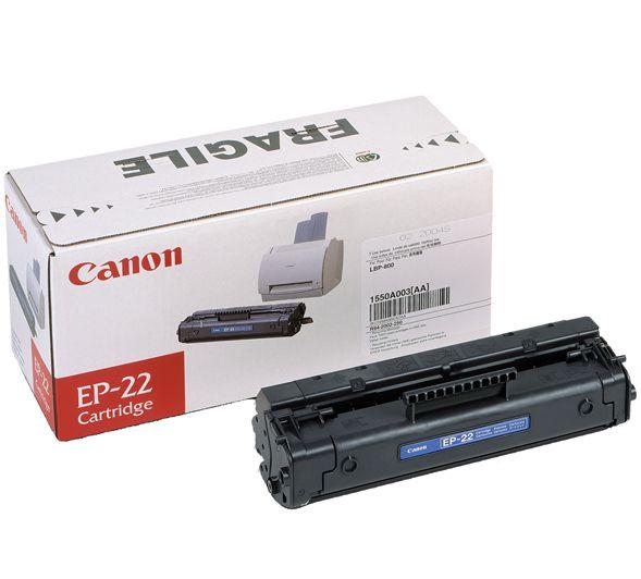 Canon EP 22 Cartucho de toner 2500paginas Negro