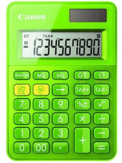 Canon Ls 100k Escritorio Basic Calculator Verde