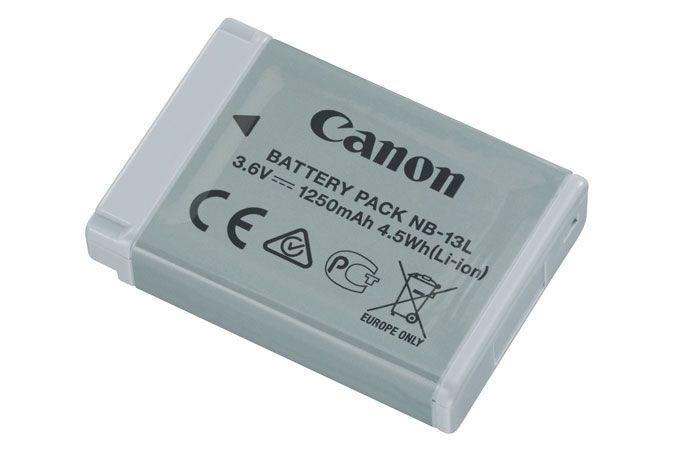 Canon NB 13L iones de litio 1250mAh 36V bateria recargable