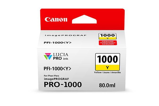 Canon PFI 1000 Y Original Amarillo