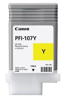 Canon PFI 107Y Amarillo cartucho de tinta