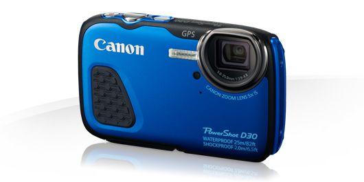 Canon PowerShot D30 azul