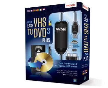 Corel Roxio Easy VHS to DVD 3 Plus