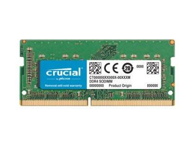 Crucial 16 Gb Ddr4 Sodimm 2400
