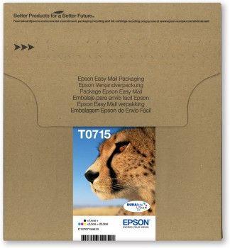 Epson C13T07154510 cartucho de tinta Original Negro Cian Magenta Amarillo Multipack