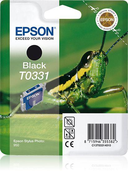 Epson Cartucho T0331 negro etiqueta RF