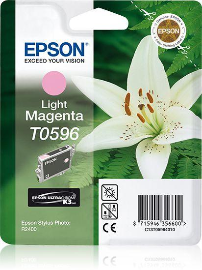 Epson Singlepack Light Magenta T0596 Ultra Chrome K3
