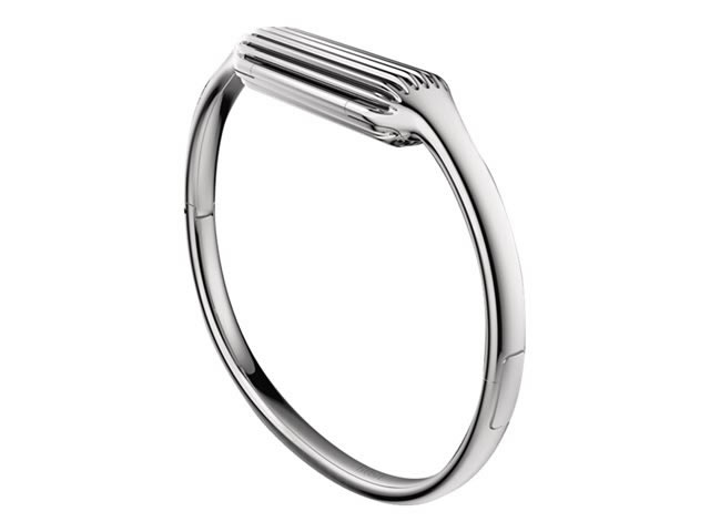 Ver Fitbit Bangle Brazalete PEQUENA PLATA