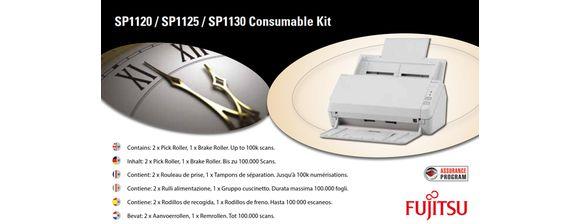 Ver Fujitsu CON 3708 001A Escaner Kit de consumibles