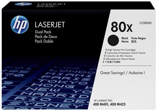 Ver HP 2 x CF280XD