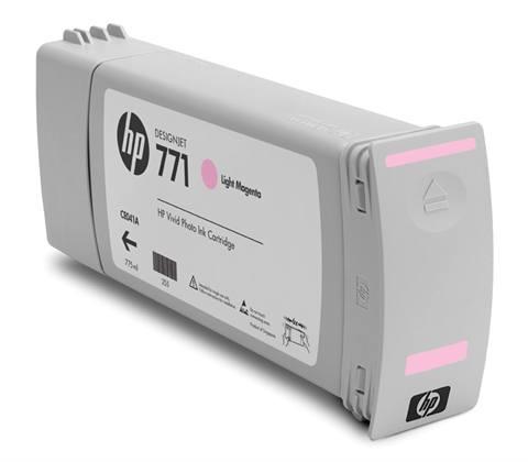 HP 771 3 pack 775 ml Light Magenta Designjet Ink Cartridges