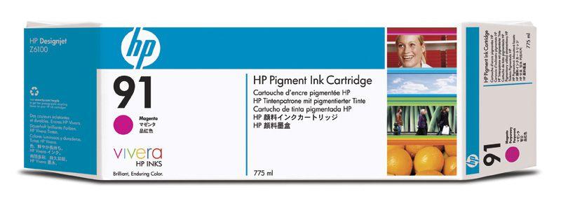 HP 91 MAGENTA