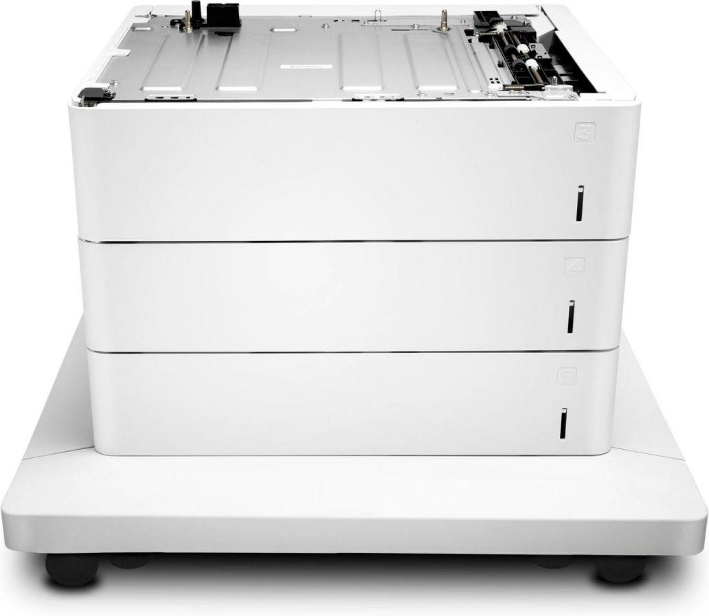 HP Alimentador de hojas y soporte de la impresora Color LaserJet de 3x550