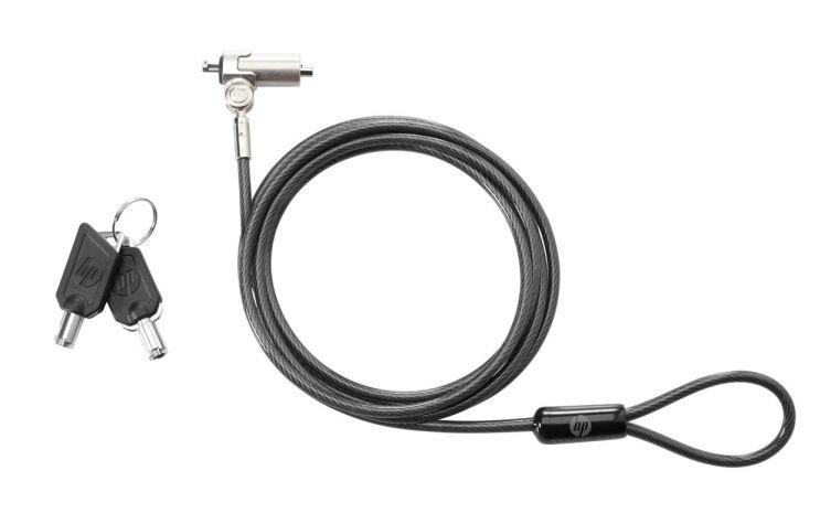 Ver HP Bloqueo de cable con clave Essential cable antirrobo