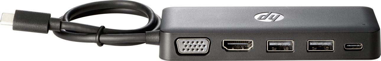 HP CONCENTRADOR de viaje USB C