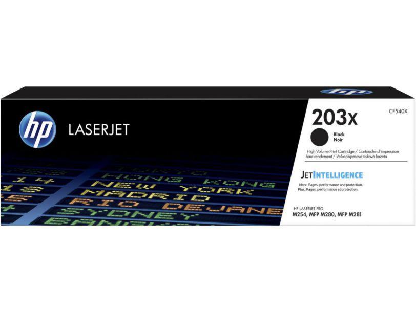 HP Cartucho de toner Original LaserJet 203X negro de alta capacidad
