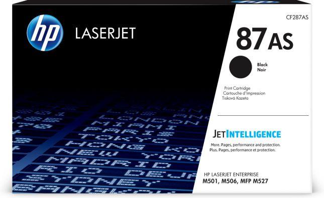 HP Cartucho de toner Original LaserJet 87AS negro