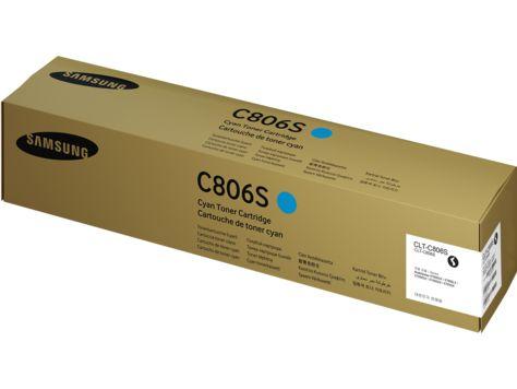 Ver HP Cartucho de toner cian Samsung CLT C806S