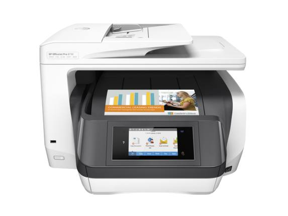 HP OfficeJet Pro 8730 AiO Inyeccion de tinta termica A4 Wifi