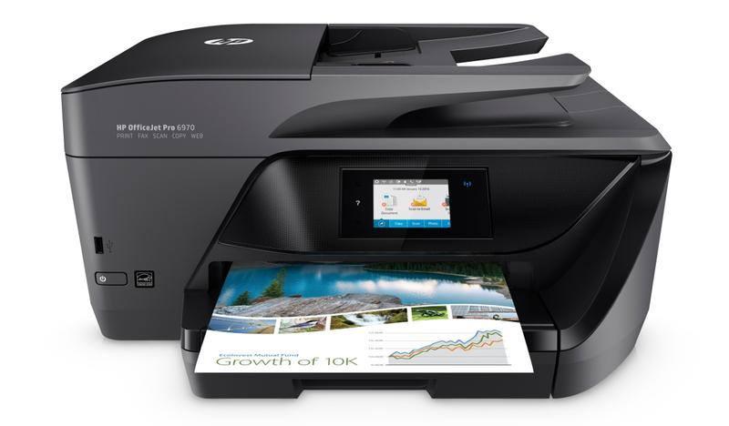 Ver HP OfficeJet Pro Pro 6970 AiO Inyeccion de tinta A4 Wifi Negro