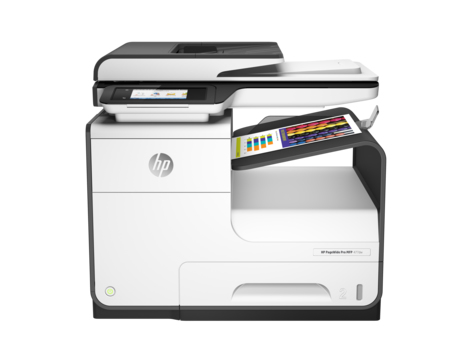Ver HP PageWide Pro 477dw Inyeccion de tinta termica A4 Wifi Gris
