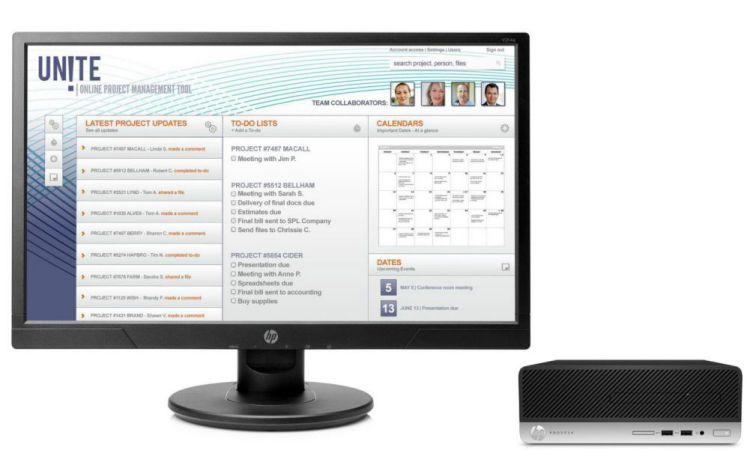 Ver HP ProDesk 400 G4 SFF 500 GB V214a