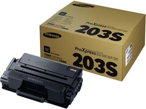 HP Samsung MLT D203S Black Toner Cartridge