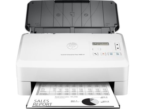 Ver HP Scanjet Enterprise Flow 5000 s4