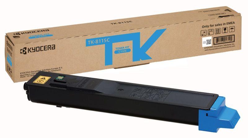 Ver KYOCERA TK 8115C Toner de laser 6000paginas Cian