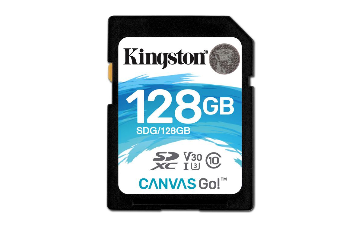 Ver Kingston Technology Canvas Go 128GB SDXC UHS I Clase 10 memoria flash