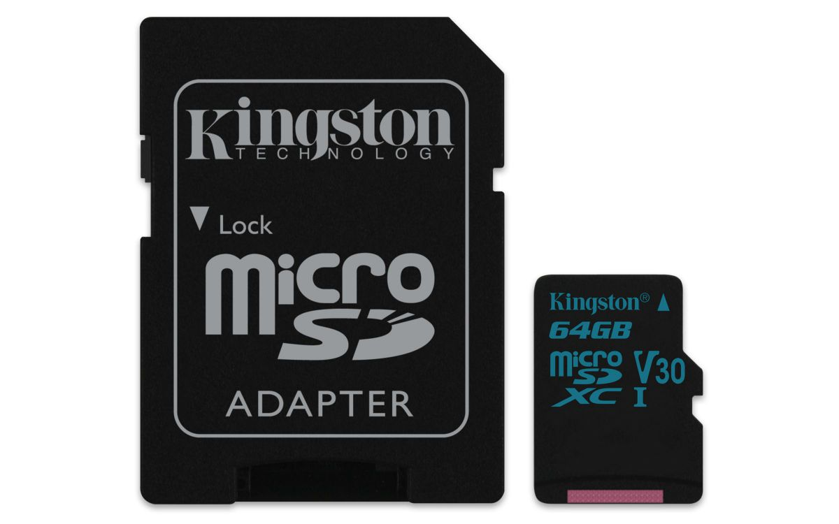 Ver Kingston Technology Canvas Go 64GB MicroSDXC UHS I Clase 10 memoria flash