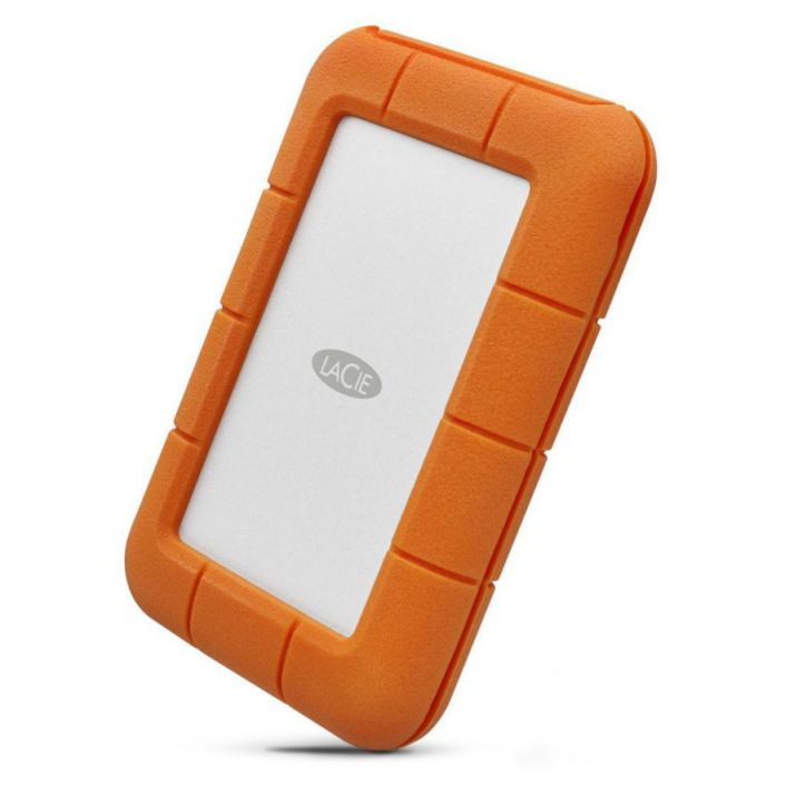 Ver LaCie Rugged USB C 5000GB Gris Amarillo