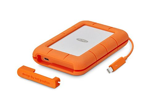 Ver LaCie Rugged Thunderbolt USB C SSD 512GB