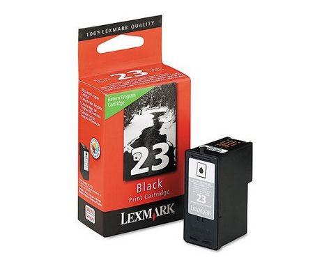 Lexmark 23 Negro cartucho de tinta
