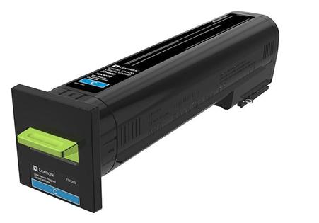 Lexmark 72K20C0 8000paginas Cian toner y cartucho laser