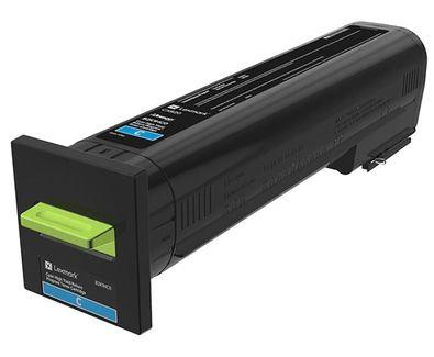 Ver Lexmark 72K20CE Laser cartridge Cian toner y cartucho laser