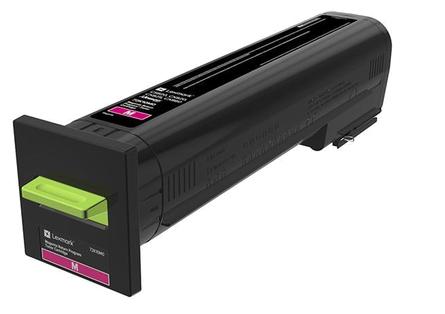Lexmark 72K20M0 8000paginas Magenta toner y cartucho laser
