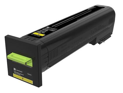 Lexmark 72K20Y0 8000paginas Amarillo toner y cartucho laser