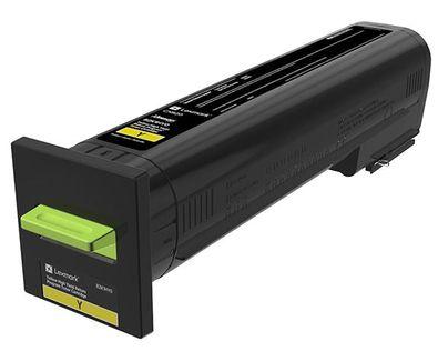 Ver Lexmark 72K20YE Laser cartridge Amarillo toner y cartucho laser