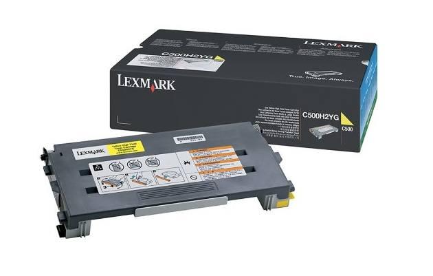 Lexmark C500H2YG toner y cartucho laser