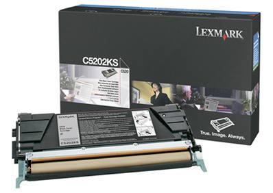 Ver Lexmark C5202KS toner y cartucho laser