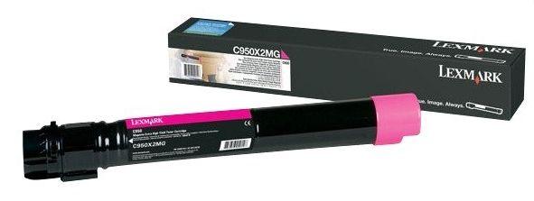 Lexmark C950X2MG 24000paginas Magenta toner y cartucho laser