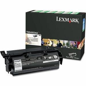 Lexmark T654X80G toner y cartucho laser