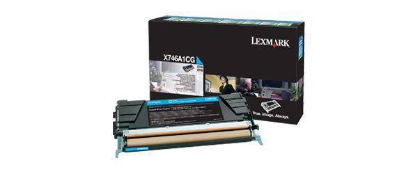 Lexmark X746A1CG Toner 7000paginas Cian toner y cartucho laser