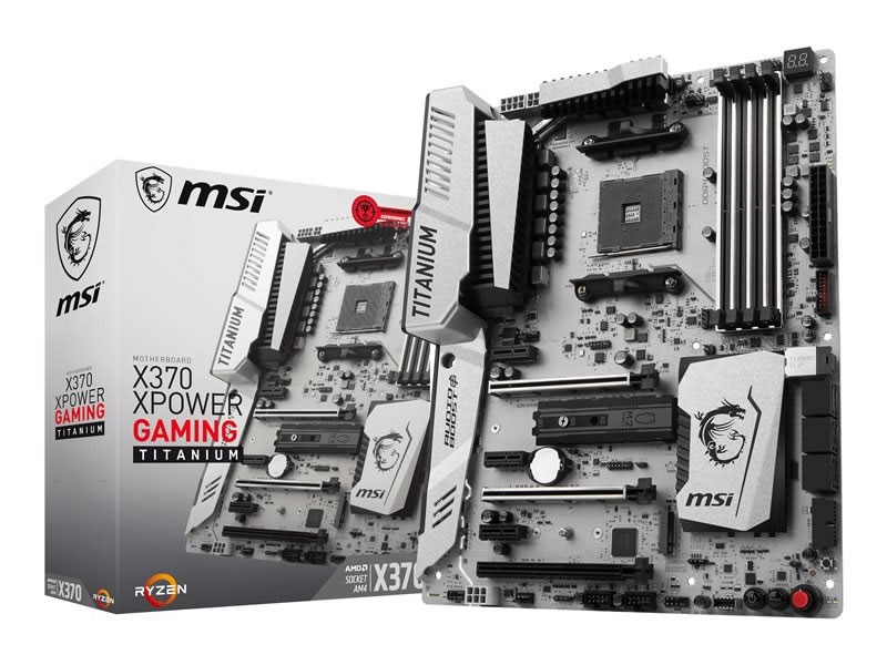 Ver MSI X370 XPOWER GAMING TITANIUM