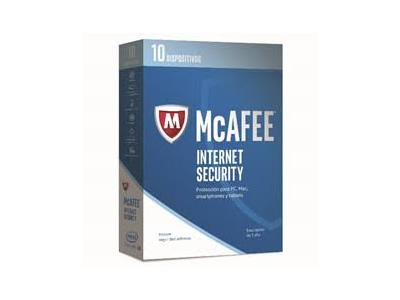 Ver McAfee Internet Security 2017 10 LICENCIAS