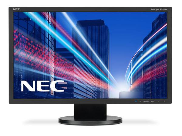 Ver NEC AccuSync AS222WM Full HD TN Film Negro